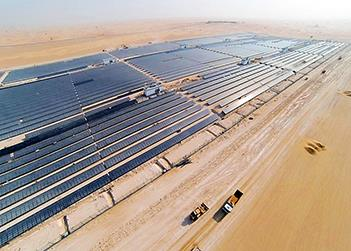 Phase two of Dubai's Mohammed bin Rashid al-Maktoum solar park inaugurated