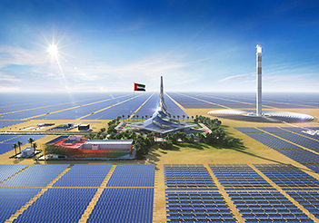 UAE third phase operations begin at MBR solar park