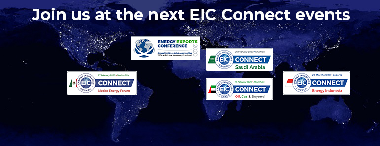 Eic Events 2020.The Energy Industries Council Eic The Leading Trade