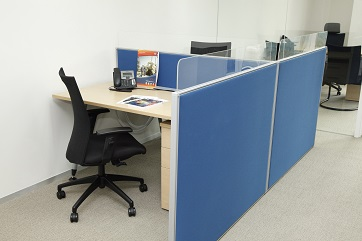 Book a hot desk free of charge