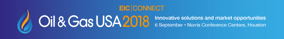 EIC Connect Oil & Gas USA 2018 banner