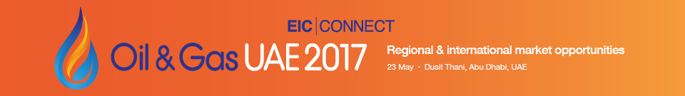 EIC Connect Oil & Gas UAE 2017 banner